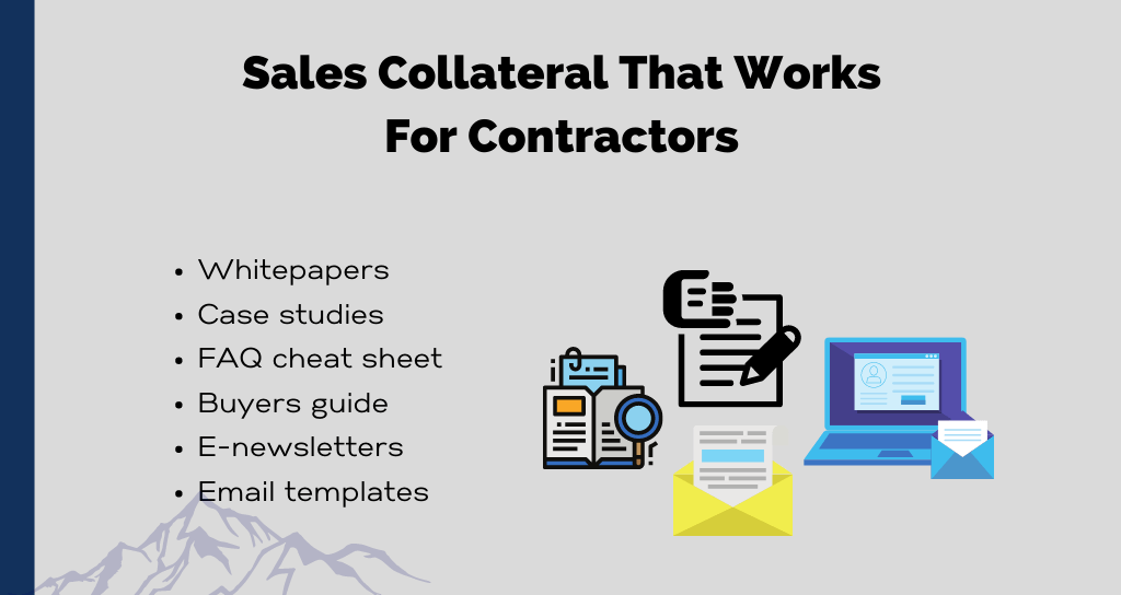 Sales Collateral That Works For Contractors
