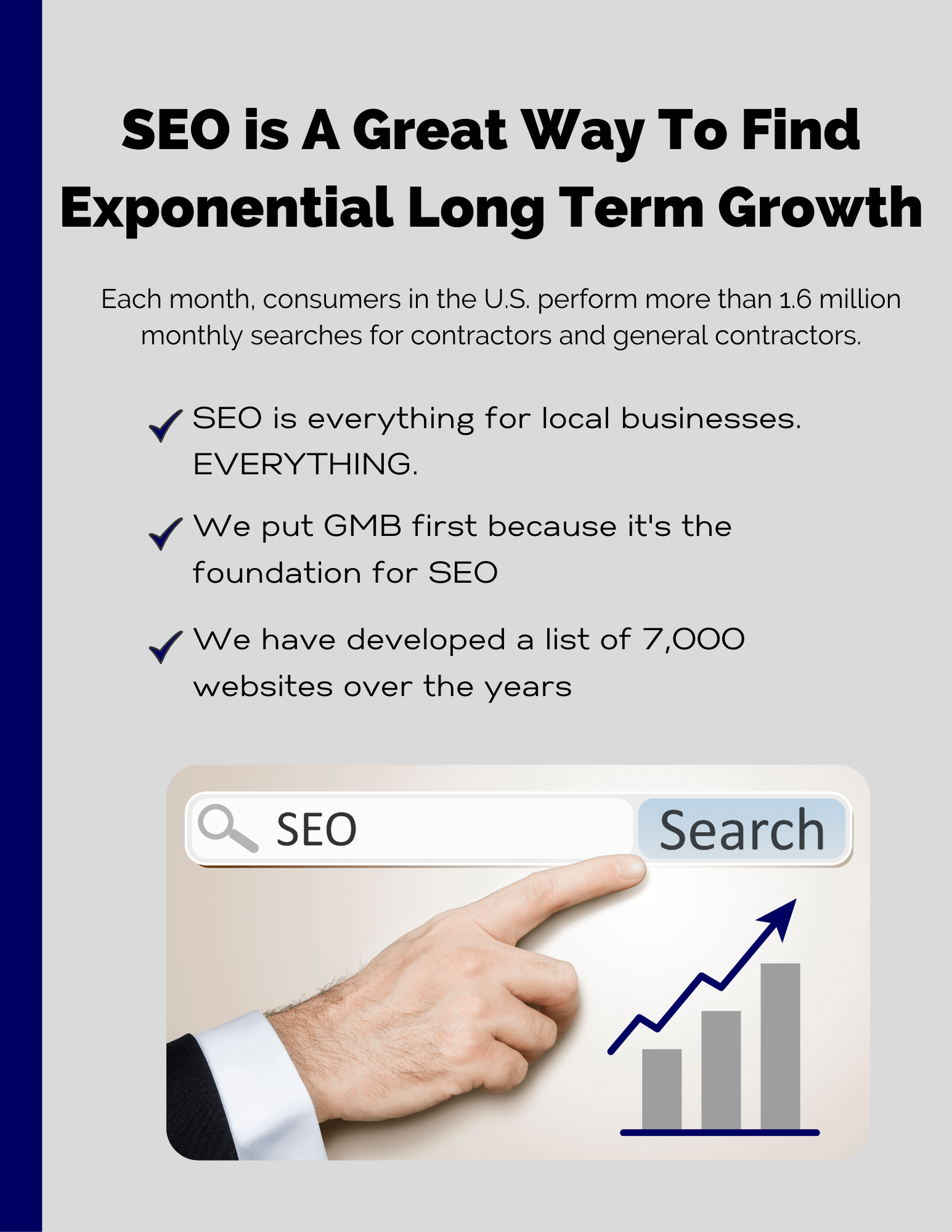 SEO is A Great Way To Find Exponential Long Term Growth